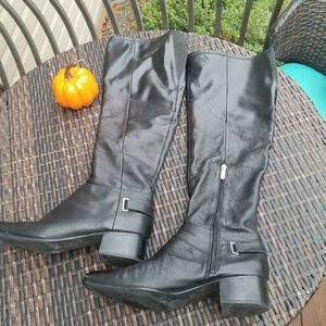 Stretchy Riding Boots